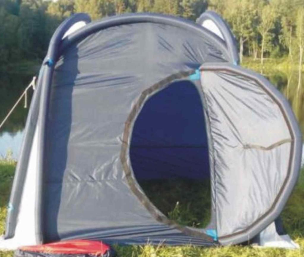 Из чего сшить палатку
